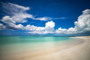 Leeward beach in the Turks & Caicos