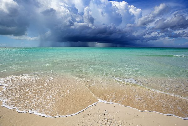 Turks and Caicos beautiful blue waters